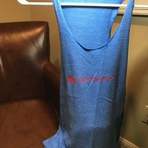 Blue Pure Barre Tank Top